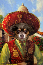 Load image into Gallery viewer, The Sombrero Custom Pet Portrait Digital Download - Noble Pawtrait