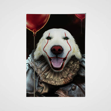 The IT Custom Pet Portrait Poster - Noble Pawtrait