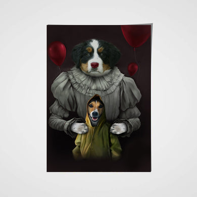 The Clowns Custom Pet Portrait Poster - Noble Pawtrait