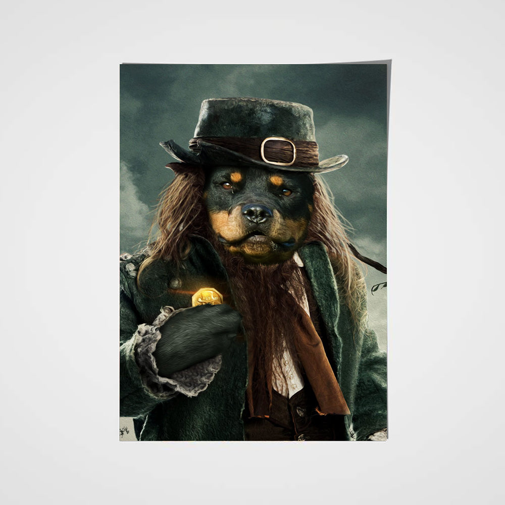 The Leprechaun Custom Pet Portrait Poster