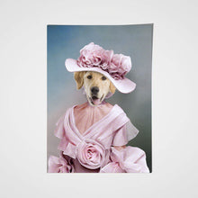 Load image into Gallery viewer, The Rosy Lady Custom Pet Portrait