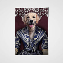 Load image into Gallery viewer, The Renaissance Lady Custom Pet Portrait Poster - Noble Pawtrait
