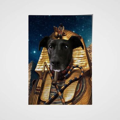 The Pharapaw Custom Pet Portrait Poster - Noble Pawtrait