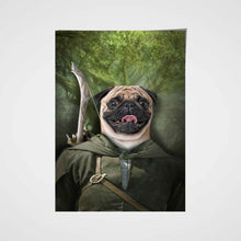 Load image into Gallery viewer, Pawgolas Custom Pet Portrait - Noble Pawtrait