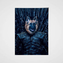 Load image into Gallery viewer, Night King Custom Pet Portrait Poster - Noble Pawtrait