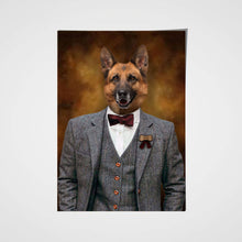 Load image into Gallery viewer, The Men Custom Pet Portrait Poster - Noble Pawtrait