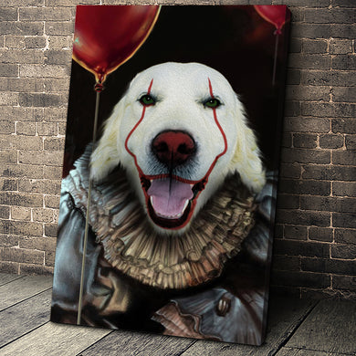 The IT Custom Pet Portrait Canvas - Noble Pawtrait