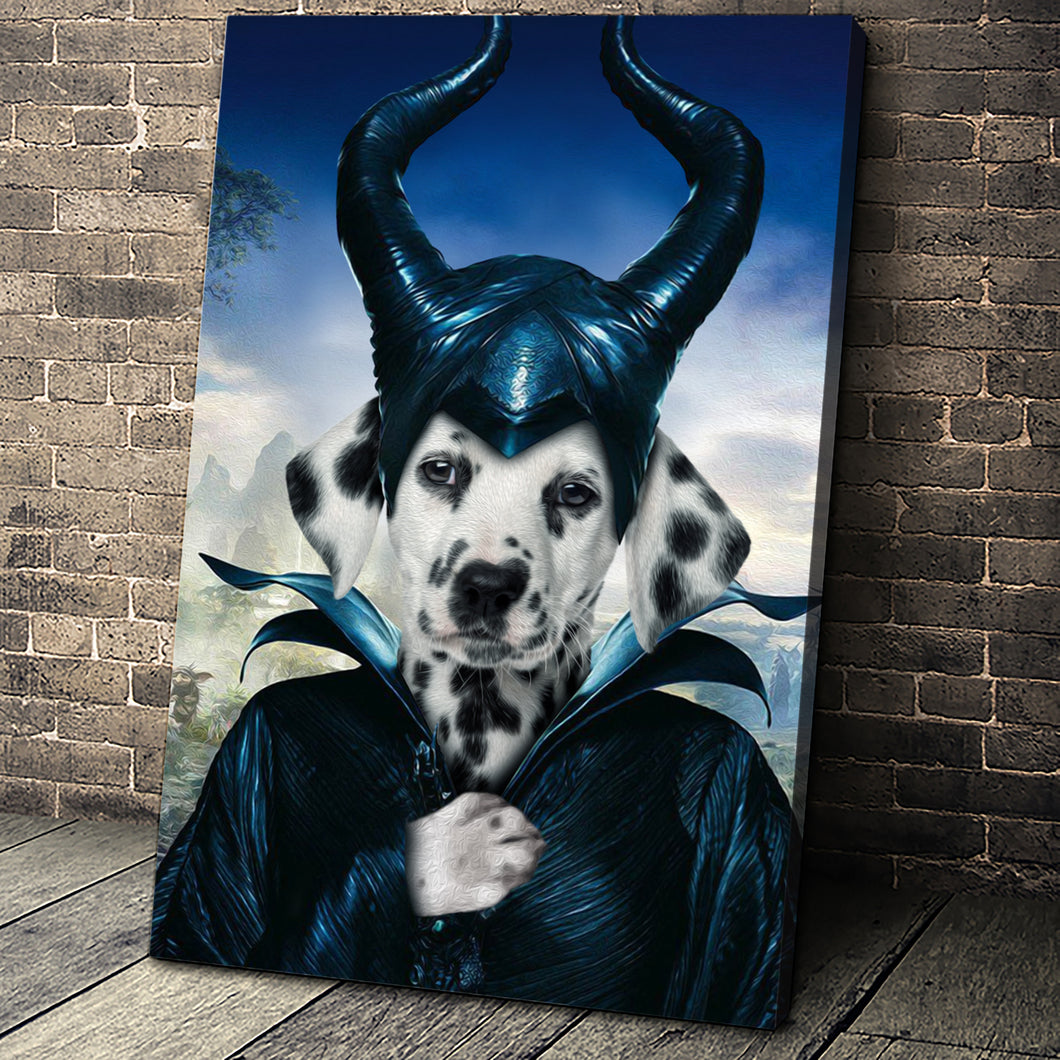 The Pawnificent Custom Pet Portrait Canvas - Noble Pawtrait