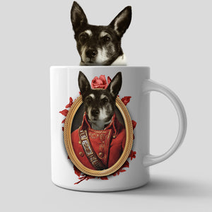 The Soldier Custom Pet Mug - Noble Pawtrait
