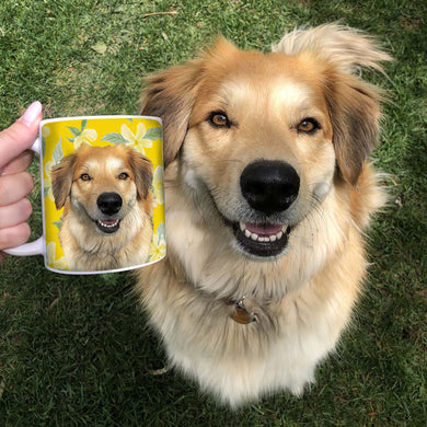 Custom Pet Coffee Mug - Noble Pawtrait