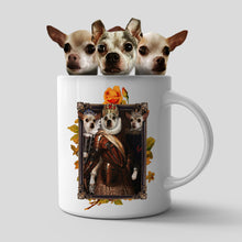 Load image into Gallery viewer, The Trio Custom Pet Mug - Noble Pawtrait