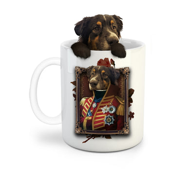 The Pilus Prior Custom Pet Mug - Noble Pawtrait