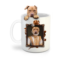 Load image into Gallery viewer, The Princess Custom Pet Mug - Noble Pawtrait