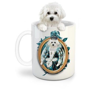 The Queen Custom Pet Mug - Noble Pawtrait