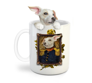 The Veteran Custom Pet Mug - Noble Pawtrait
