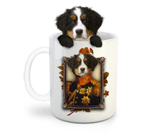 Load image into Gallery viewer, The Major Custom Pet Mug - Noble Pawtrait