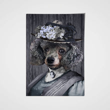Load image into Gallery viewer, The Mrs. Custom Pet Portrait Poster - Noble Pawtrait