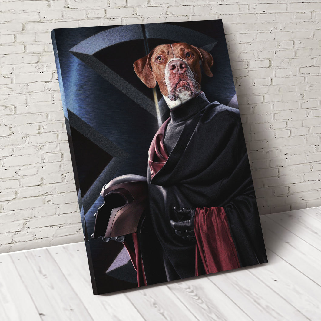 Pawneto X-paw Custom Pet Portrait - Noble Pawtrait