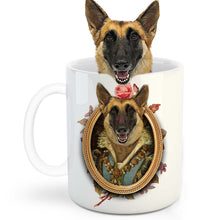 Load image into Gallery viewer, The Perisa Princess Custom Pet Mug - Noble Pawtrait