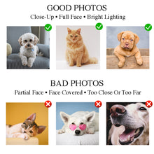 Load image into Gallery viewer, The Good And The Bad Custom Pet Portrait Poster - Noble Pawtrait