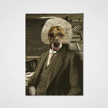 Load image into Gallery viewer, The Genius Custom Pet Portrait Poster - Noble Pawtrait