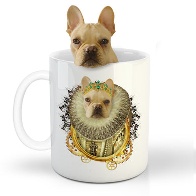 The Priest Custom Pet Mug - Noble Pawtrait