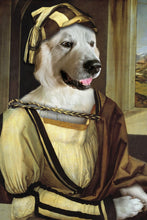 Load image into Gallery viewer, Albrecht Dürer Custom Pet Portrait - Noble Pawtrait
