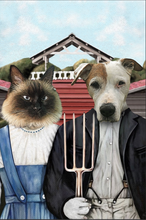 Load image into Gallery viewer, The Farmers Custom Pet Portrait Digital Download - Noble Pawtrait
