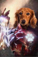 Load image into Gallery viewer, The Machina Custom Pet Portrait - Noble Pawtrait