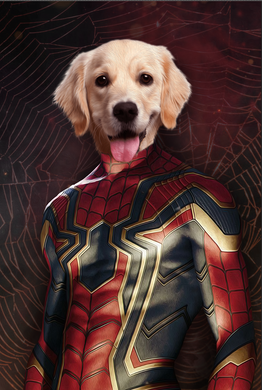 The Spider Paw Custom Pet Portrait Digital Download - Noble Pawtrait