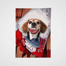 Load image into Gallery viewer, The Shining Paw Custom Pet Portrait Poster - Noble Pawtrait