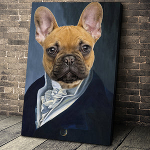 The Man Custom Pet Portrait - Noble Pawtrait