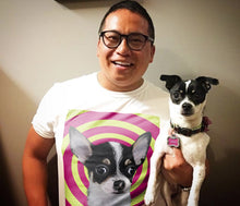Load image into Gallery viewer, Custom Pet T-shirt - Noble Pawtrait