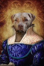 Load image into Gallery viewer, The Ambassadress Custom Pet Portrait - Noble Pawtrait