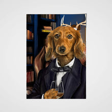 Load image into Gallery viewer, The Attorney Custom Pet Portrait Poster - Noble Pawtrait
