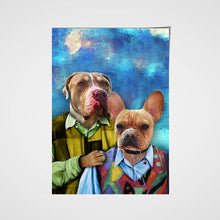 Load image into Gallery viewer, The Brothers Custom Pet Portrait Poster - Noble Pawtrait
