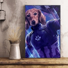 Load image into Gallery viewer, The Captain Paw Custom Pet Portrait Poster - Noble Pawtrait