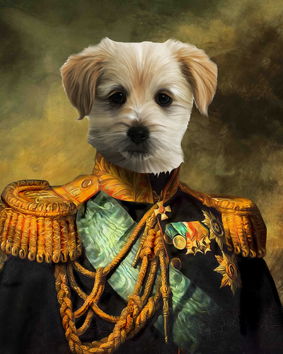 The Centurions Custom Pet Portrait Digital Download - Noble Pawtrait