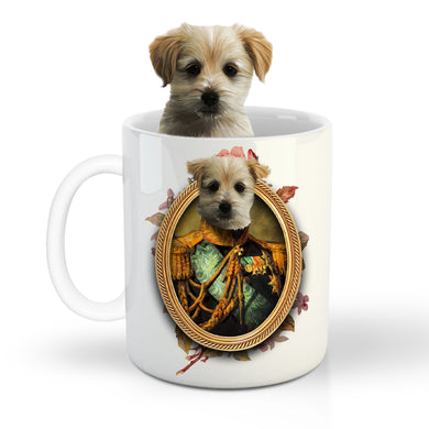 The Centurion Custom Pet Mug - Noble Pawtrait