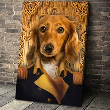 Load image into Gallery viewer, The Chief Of State Custom Pet Portrait - Noble Pawtrait