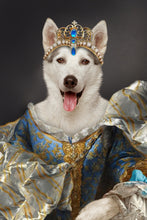Load image into Gallery viewer, Classic Princess Custom Pet Portrait Digital Download - Noble Pawtrait