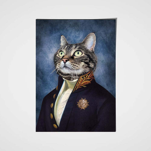 The Counselor Custom Pet Portrait Poster - Noble Pawtrait