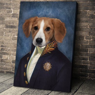 The Counselor Custom Pet Portrait - Noble Pawtrait