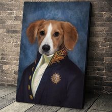 Load image into Gallery viewer, The Counselor Custom Pet Portrait Canvas - Noble Pawtrait