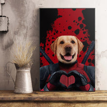 Load image into Gallery viewer, The Dead Paw Custom Pet Portrait Poster - Noble Pawtrait