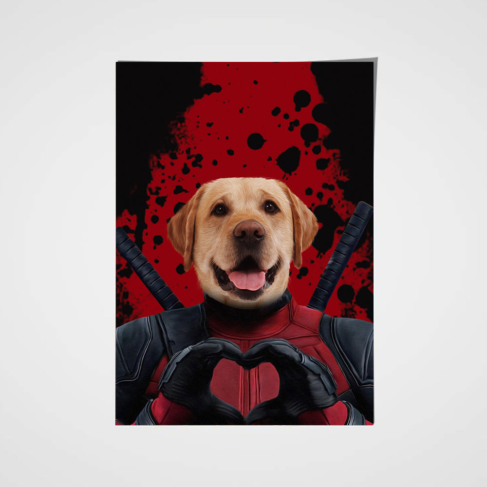 The Dead Paw Custom Pet Portrait Poster - Noble Pawtrait