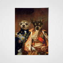 Load image into Gallery viewer, The Duo Custom Pet Portrait Poster - Noble Pawtrait