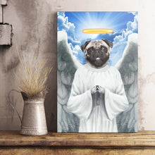 Load image into Gallery viewer, The Flying Angel Custom Pet Portrait Poster - Noble Pawtrait
