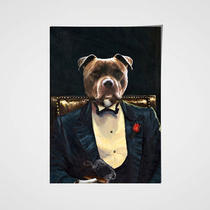 The Legend Custom Pet Portrait Poster - Noble Pawtrait