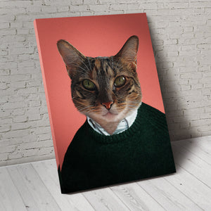 The Good Guy Custom Pet Portrait Canvas - Noble Pawtrait